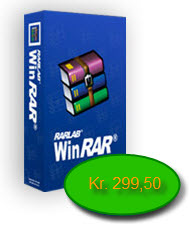 K�b WinRAR for kr. 299,50